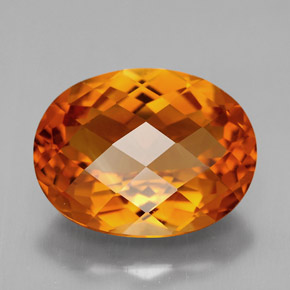 5.44 ct Natural Yellow Orange Citrine