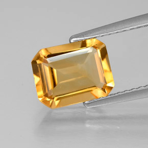 Buy 1.80ct Yellow Golden Citrine 8.94mm x 6.95mm from GemSelect (Product ID: 305656)