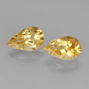 Buy 1.62 ct Yellow Golden Citrine 8.12 mm x 5.1 mm from GemSelect (Product ID: 308324)