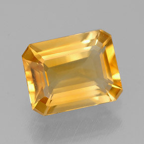 1.9 ct Natural Yellow Golden Citrine