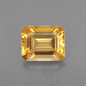 1.74 ct Natural Yellow Golden Citrine