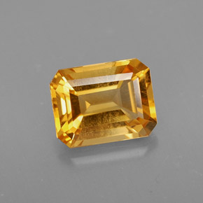 Buy 1.97 ct Yellow Golden Citrine 8.75 mm x 6.9 mm from GemSelect (Product ID: 312326)