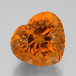 7 3 Carat Yellow Orange Citrine Gem From Brazil Natural