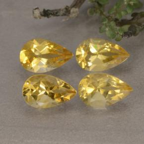 Buy 3.41 ct Yellow Golden Citrine 8.05 mm x 4.9 mm from GemSelect (Product ID: 314615)