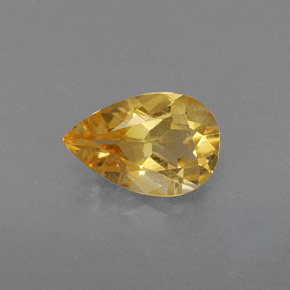 Buy 0.70 ct Yellow Golden Citrine 7.75 mm x 5.1 mm from GemSelect (Product ID: 314702)