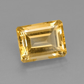 2.49 ct Natural Yellow Golden Citrine