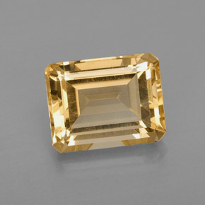 2.38 ct Natural Yellow Golden Citrine