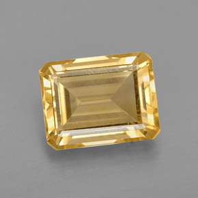 2.33 ct Natural Yellow Golden Citrine