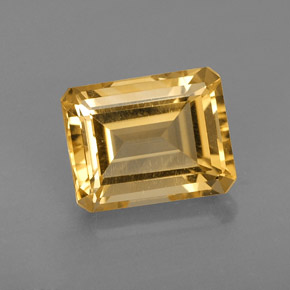 2.42 ct Natural Yellow Golden Citrine