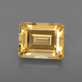 2.46 ct Natural Yellow Golden Citrine