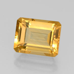 2.21 ct Natural Yellow Golden Citrine