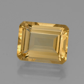 2.1 ct Natural Yellow Golden Citrine