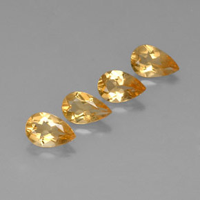 Buy 2.64 ct Yellow Golden Citrine 7.67 mm x 5 mm from GemSelect (Product ID: 317786)