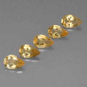 Buy 3.25 ct Yellow Golden Citrine 7.81 mm x 5.1 mm from GemSelect (Product ID: 317788)