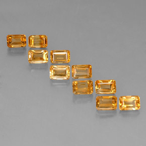 Buy 6.95ct Yellow Golden Citrine 6.04mm x 4.10mm from GemSelect (Product ID: 320870)