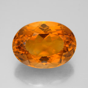 Buy 9.35 ct Yellow Orange Citrine 15.46 mm x 11.4 mm from GemSelect (Product ID: 321557)