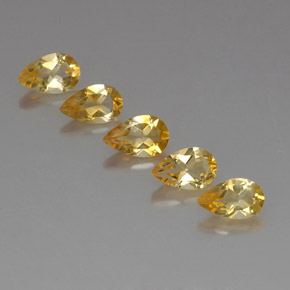 Buy 3.72 ct Yellow Golden Citrine 8.00 mm x 5 mm from GemSelect (Product ID: 324058)