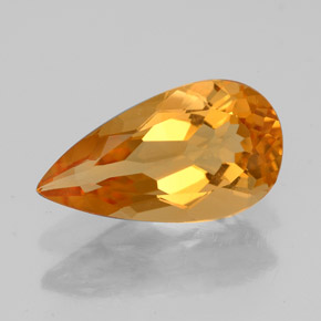 Buy 2.88ct Yellow Golden Citrine 14.19mm x 7.78mm from GemSelect (Product ID: 325422)