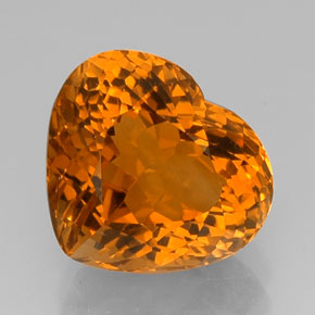 Buy 15.33 ct Yellow Orange Citrine 16.79 mm x 14.9 mm from GemSelect (Product ID: 326493)