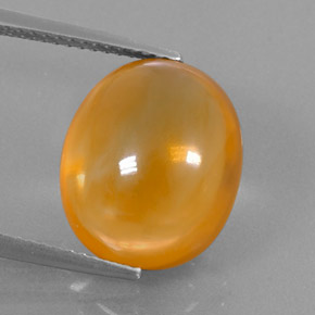 9 2ct Yellow Orange Citrine Gem From Brazil Natural And