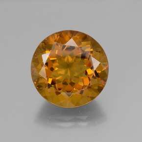 18.9ct Round Facet Yellow Golden Citrine Gem (ID: 340007)