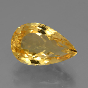 thumb image of 5ct Pear Facet Yellow Golden Citrine (ID: 428445)