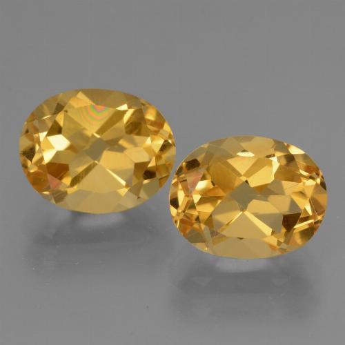 Dark Golden Citrina Gema - 2.8ct Forma ovalada (ID: 433498)