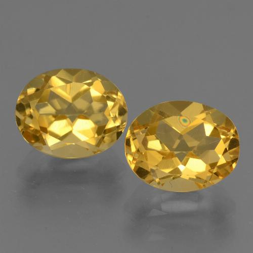 2.6ct Oval Facet Yellow Golden Citrine Gem (ID: 433736)