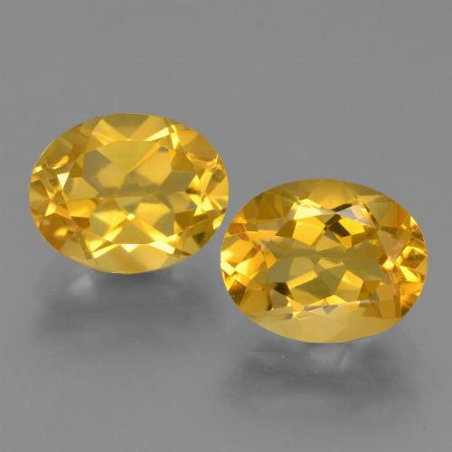 Medium Gold Citrina Gema - 2.5ct Forma ovalada (ID: 433746)