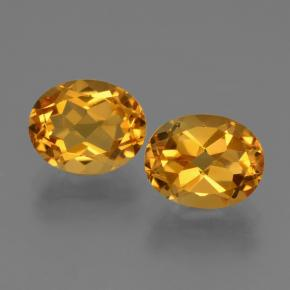 thumb image of 5.5ct Oval Facet Yellow Citrine (ID: 433844)