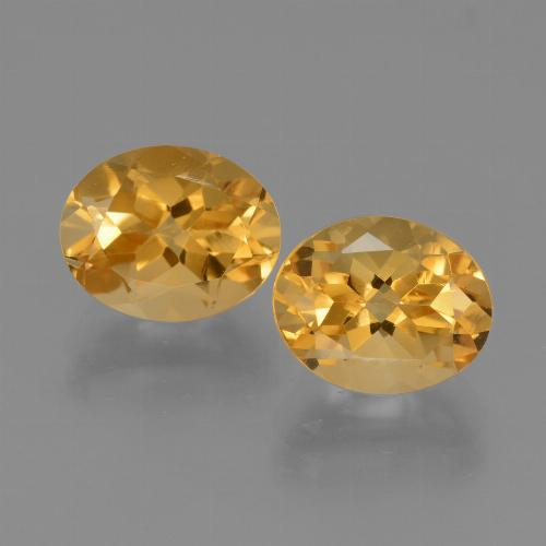 thumb image of 2.8ct Oval Facet Yellow Citrine (ID: 433849)