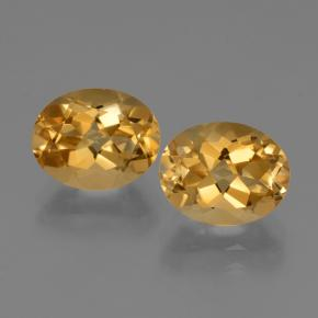 Deep Golden Orange Citrina Gema - 2.8ct Forma ovalada (ID: 433854)