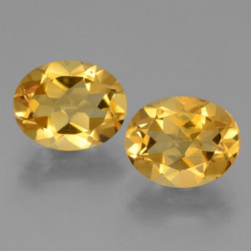 thumb image of 2.5ct Oval Facet Yellow Golden Citrine (ID: 433909)