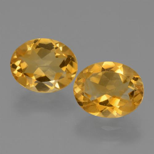 2.2ct Oval Facet Yellow Citrine Gem (ID: 433950)