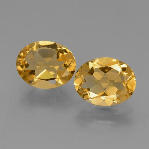 2.2ct Oval Facet Yellow Citrine Gem (ID: 433976)