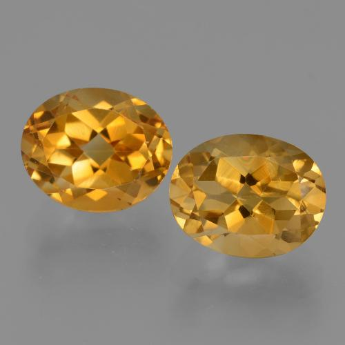 thumb image of 2.9ct Oval Facet Yellow Golden Citrine (ID: 434051)