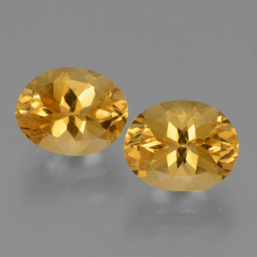thumb image of 2.6ct Oval Facet Yellow Golden Citrine (ID: 434053)