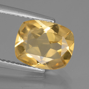 Golden Citrine Gem - 2.3ct Cushion-Cut (ID: 439395)
