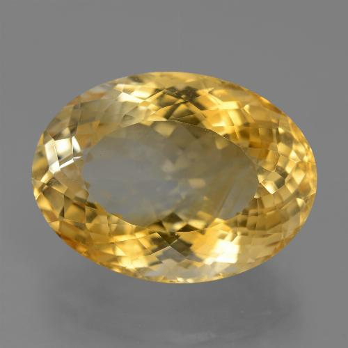 19.8ct Oval Portuguese-Cut Golden Citrine Gem (ID: 443848)
