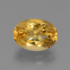 Deep Golden Orange Citrina Gema - 2.9ct Forma ovalada (ID: 445934)