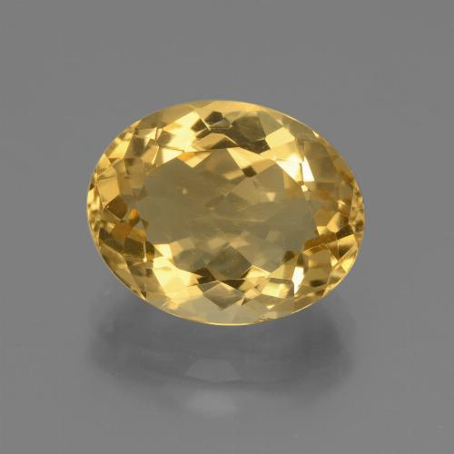 thumb image of 4.5ct Oval Facet Yellow Golden Citrine (ID: 446065)