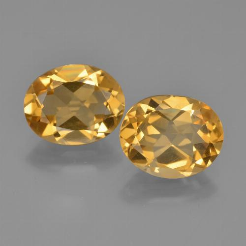 Buy 4.02 ct Yellow Golden Citrine 9.81 mm x 7.9 mm from GemSelect (Product ID: 449735)