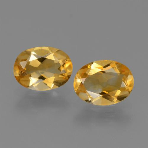 thumb image of 1.9ct Oval Facet Yellow Golden Citrine (ID: 449760)