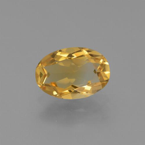 Orange-Gold Citrino Gem - 2.1ct Ovale sfaccettato (ID: 453824)