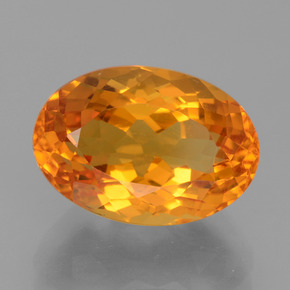 Medium Orange Citrina Gema - 4.5ct Forma ovalada (ID: 456216)