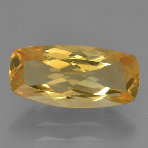 Deep Golden Orange Citrina Gema - 2.3ct Corte en Forma Cojín (ID: 456594)