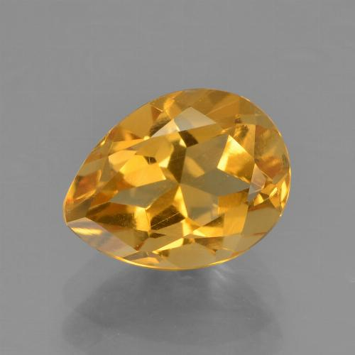 thumb image of 1.8ct Pear Facet Yellow Golden Citrine (ID: 456601)