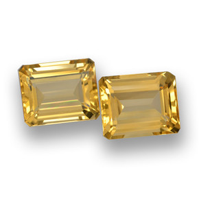 thumb image of 4.4ct Octagon Step Cut Yellow Golden Citrine (ID: 461025)