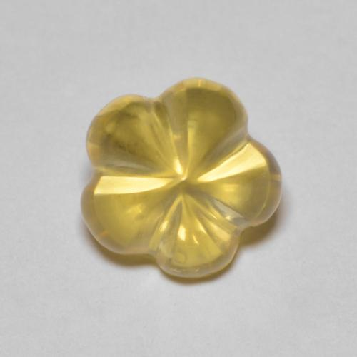 thumb image of 2.3ct Carved Flower Yellow Golden Citrine (ID: 474324)