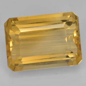 16.7ct Octogone taillé en degrés Deep Golden Orange Citrine gemme (ID: 500711)